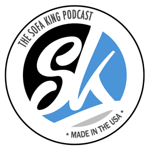 Sticker Sofa King OG Sofa King Podcast - Sofa king