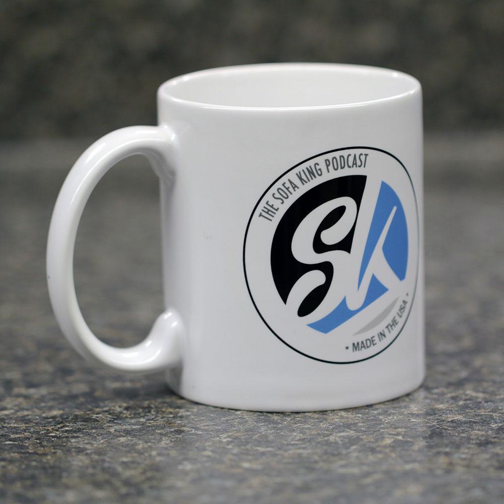 Coffee Mug SK Original Sofa King Podcast - Sofa king