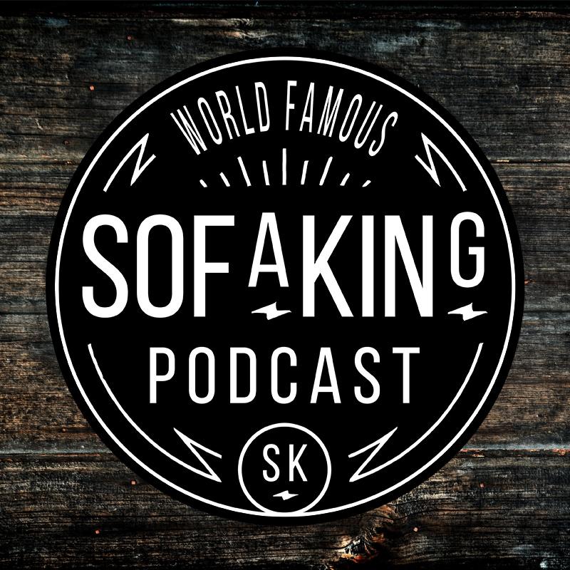 Sticker Retro Electric Sofa King Podcast - Sofa king